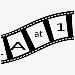 Theme cliparts graphic design. Movie clipart film viewing
