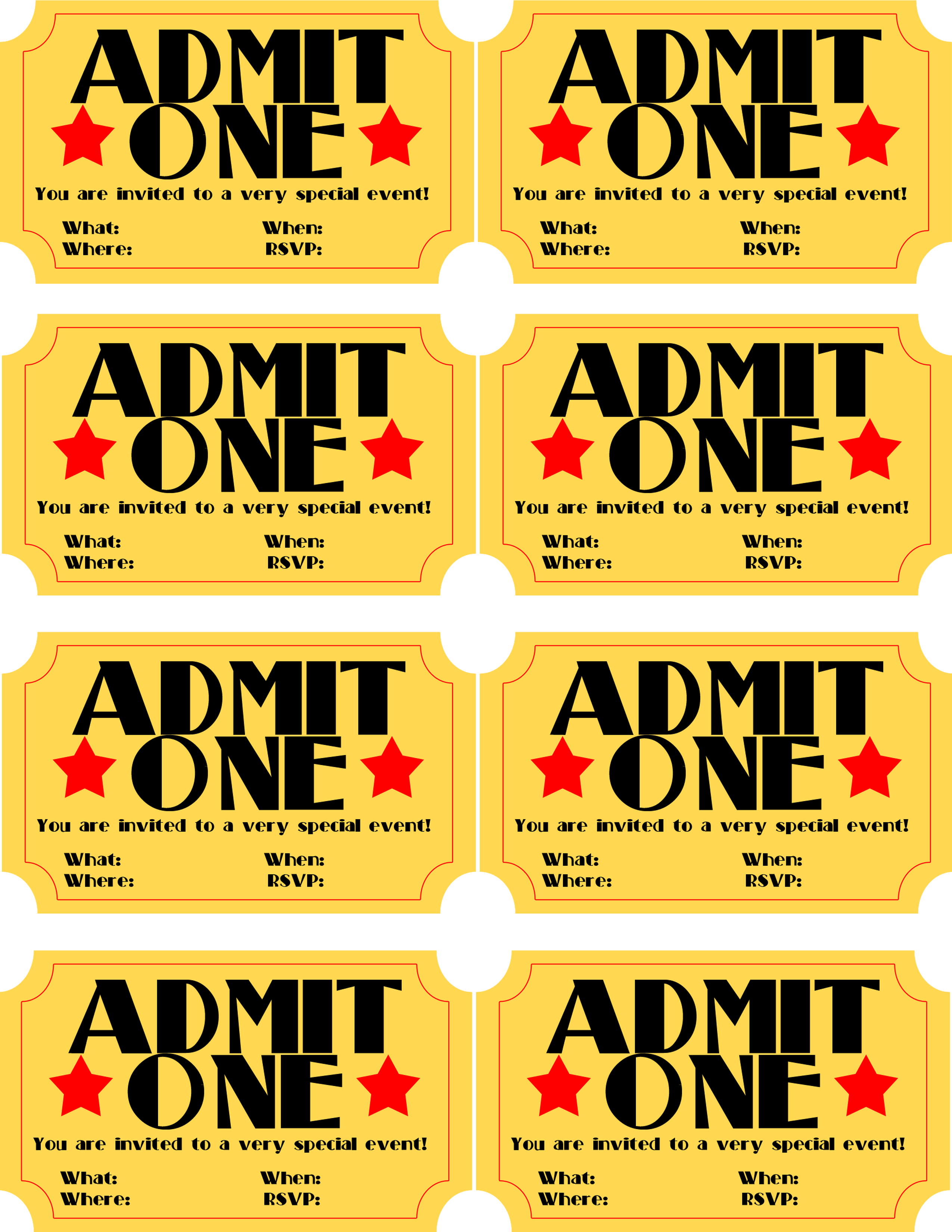 Free Movie Invitation Template from webstockreview.net