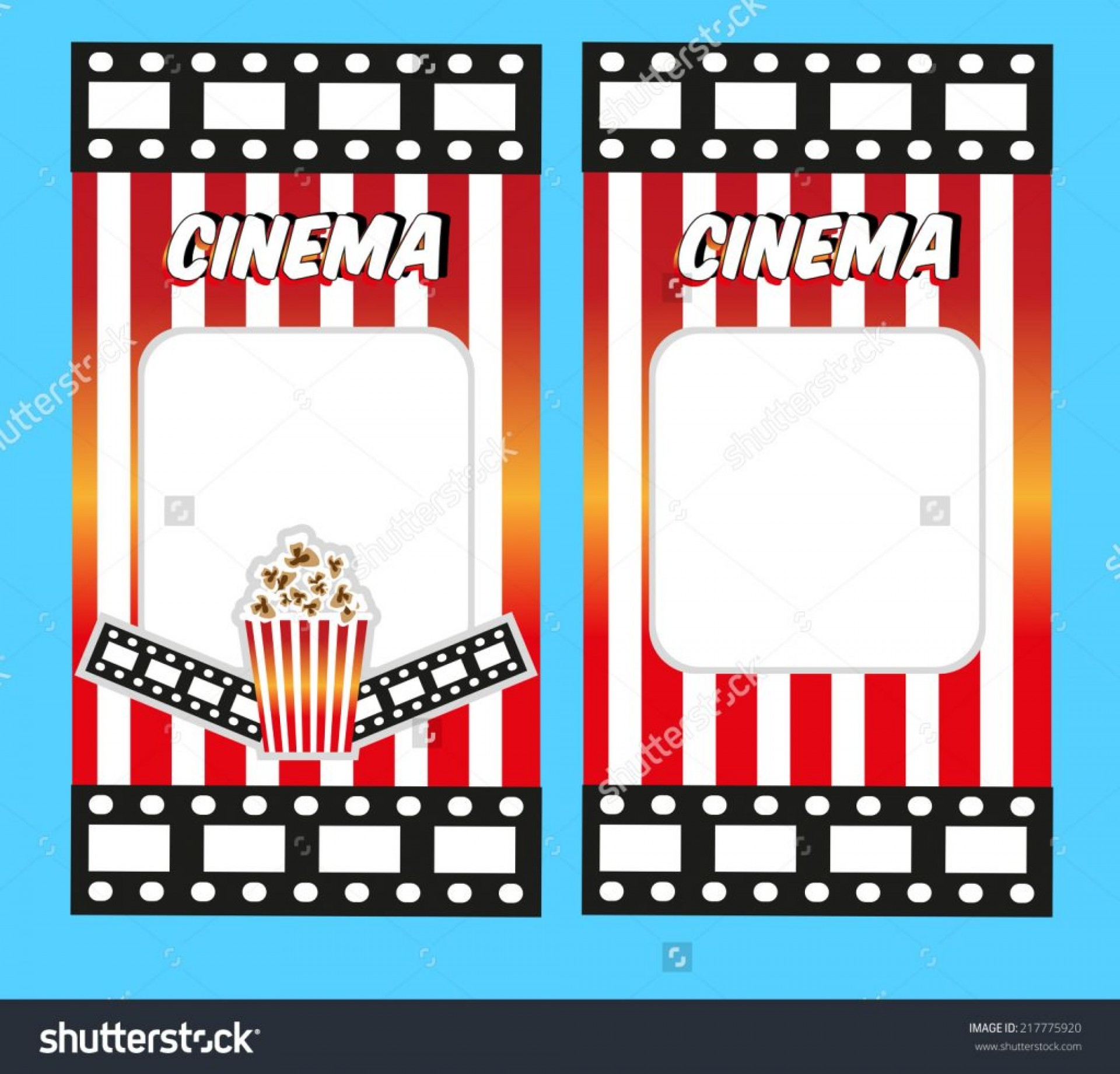 Movie Ticket Template Free Printable from webstockreview.net