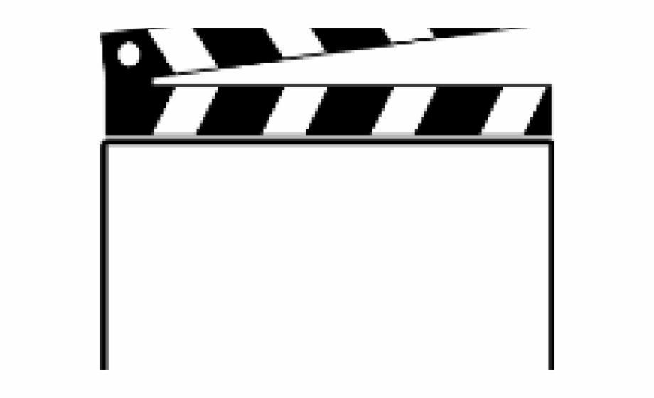 Clapperboard board clip art. Movie clipart movie clapper