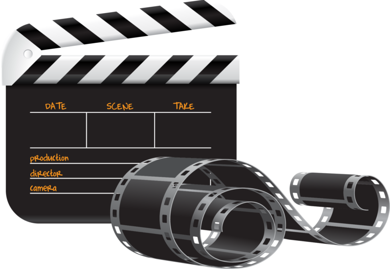New images free photos. Movie clipart movie director