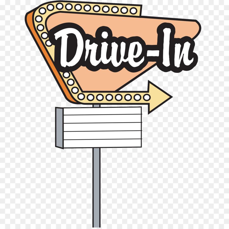 Clip art diner . Movie clipart movie drive in
