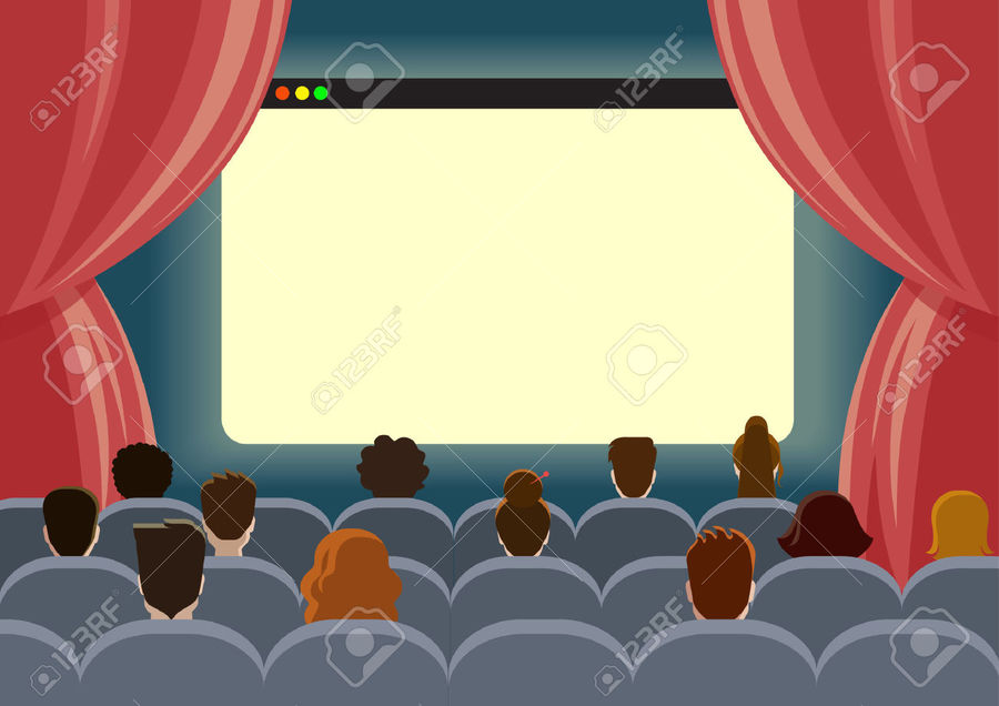 Movie clipart movie hall. Download see a cinema
