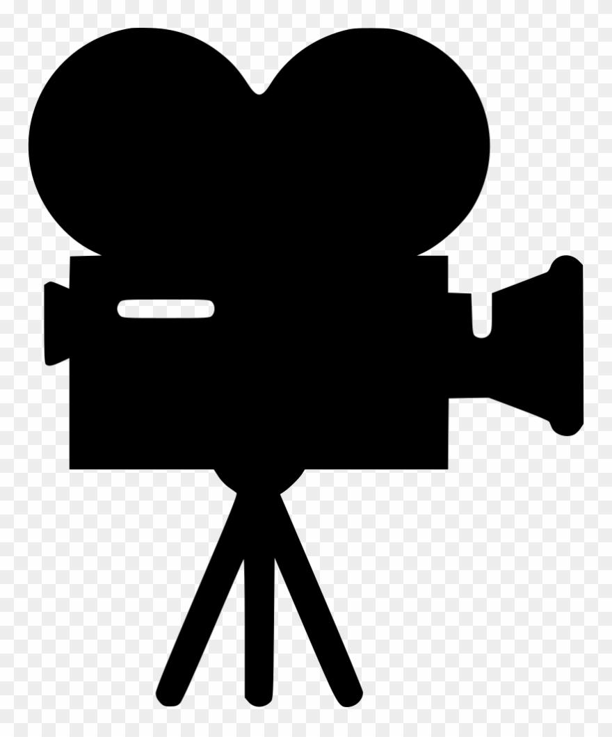 Movie clipart movie symbol. Video recorder camera logo