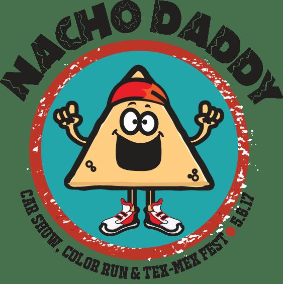 Daddy car show color. Nacho clipart appitizer