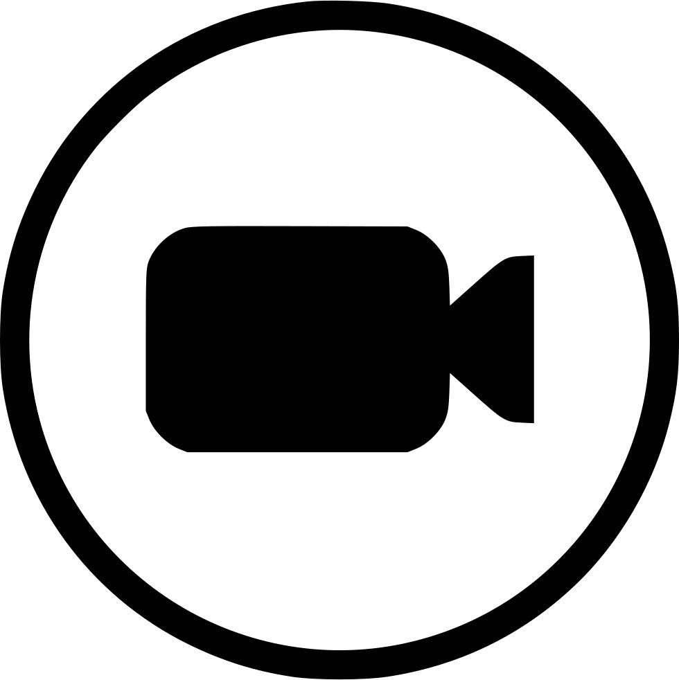 Movie clipart recorder. Free film camera icon