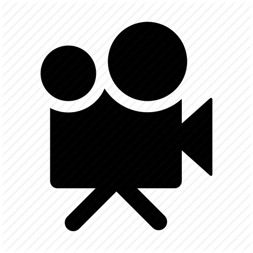 Movie icon png. Glypho and video by