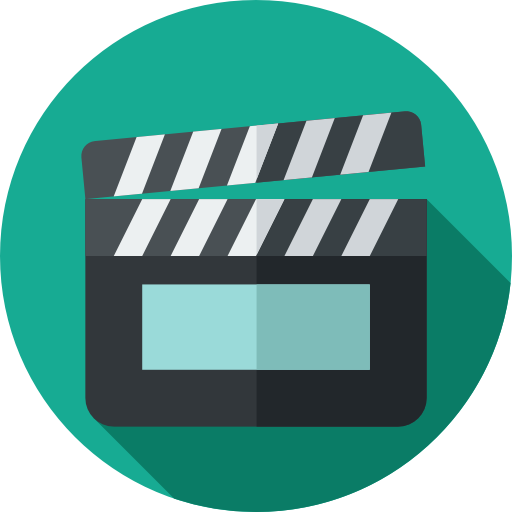 Cinema icons svg . Movie icon png
