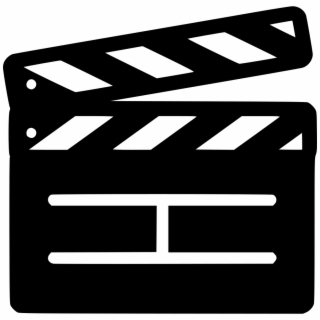 Movies clipart film slate. Free movie png images