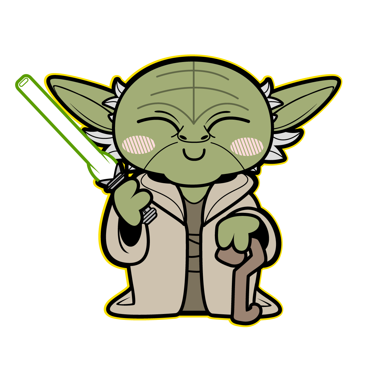 Starwars clipart cute. Kawaii star wars cool