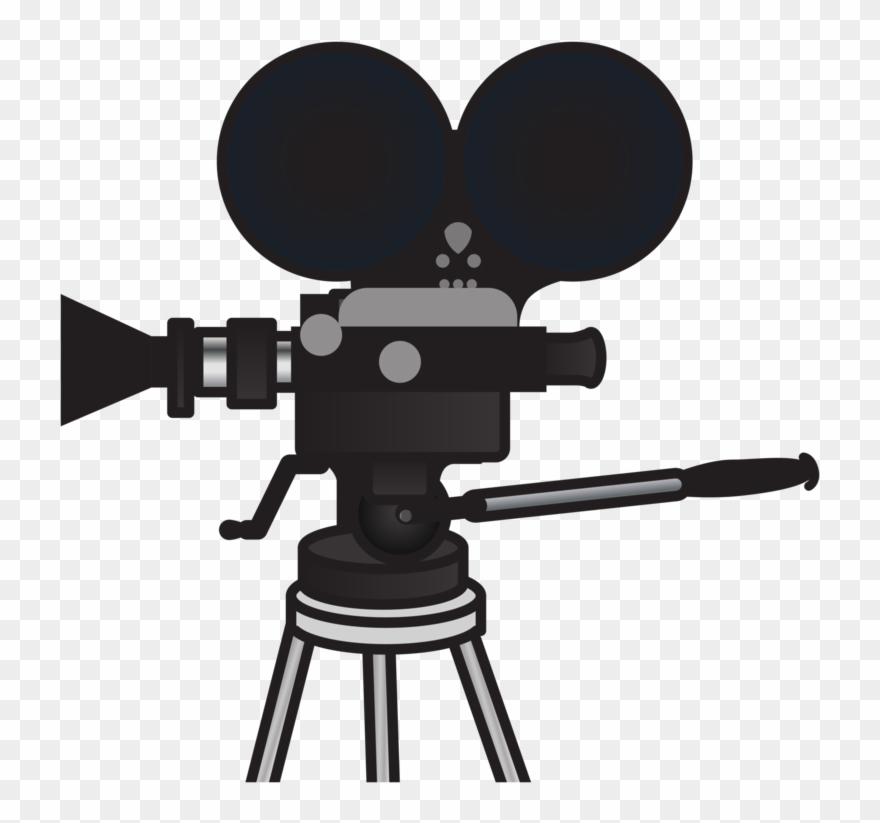 Photographic film cinematography . Movies clipart movie camera