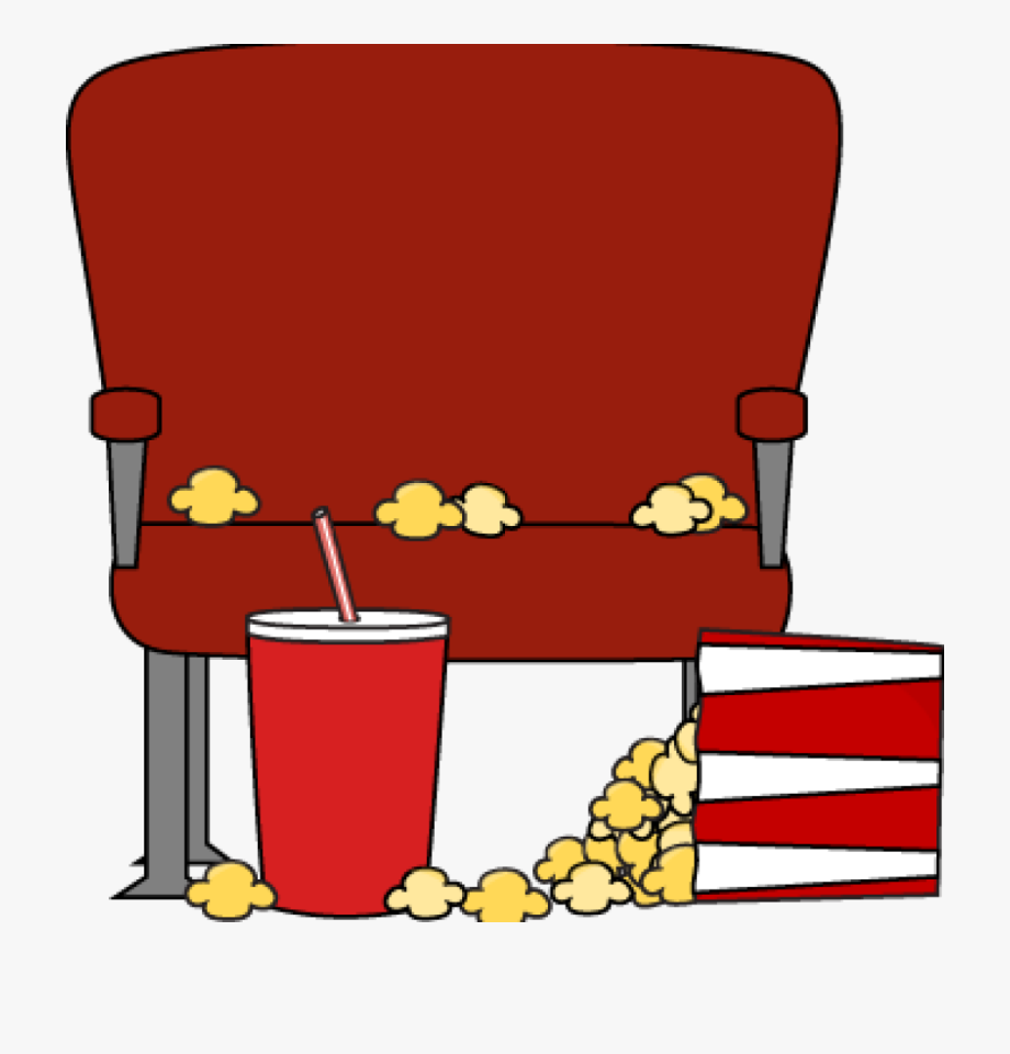 Movie hall theater clip. Movies clipart seat