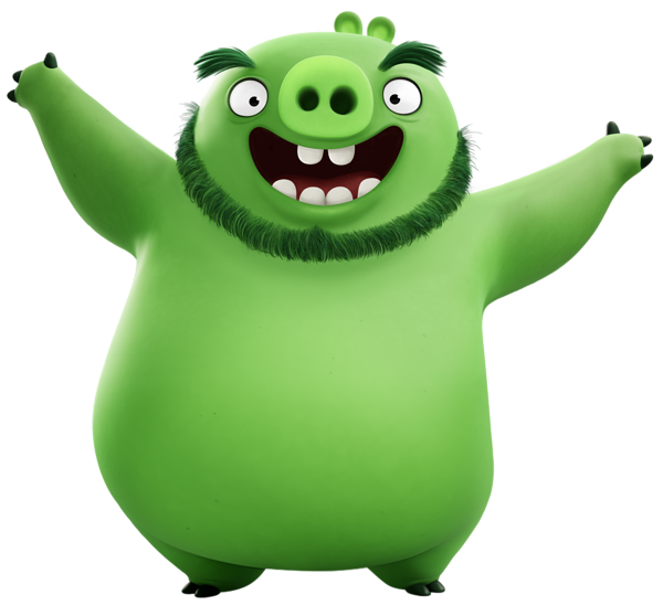 Pig clipart overweight. The angry birds movie