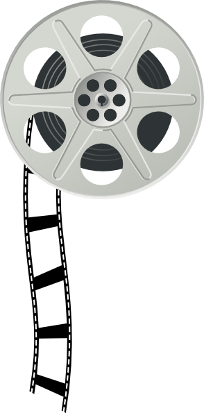 Movies clipart wheel. Free film reel cliparts