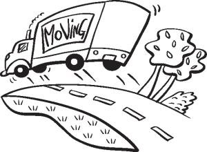 Moving clipart black and white. Clip art animations free