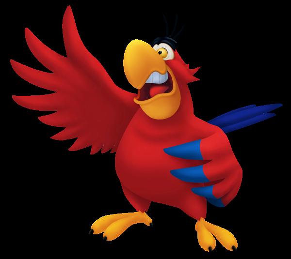 Parrot clipart shadow. Transparent aladdin iago png