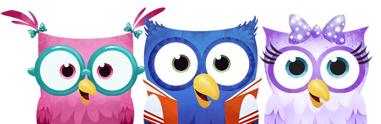 Owl animation group a. Moving clipart education