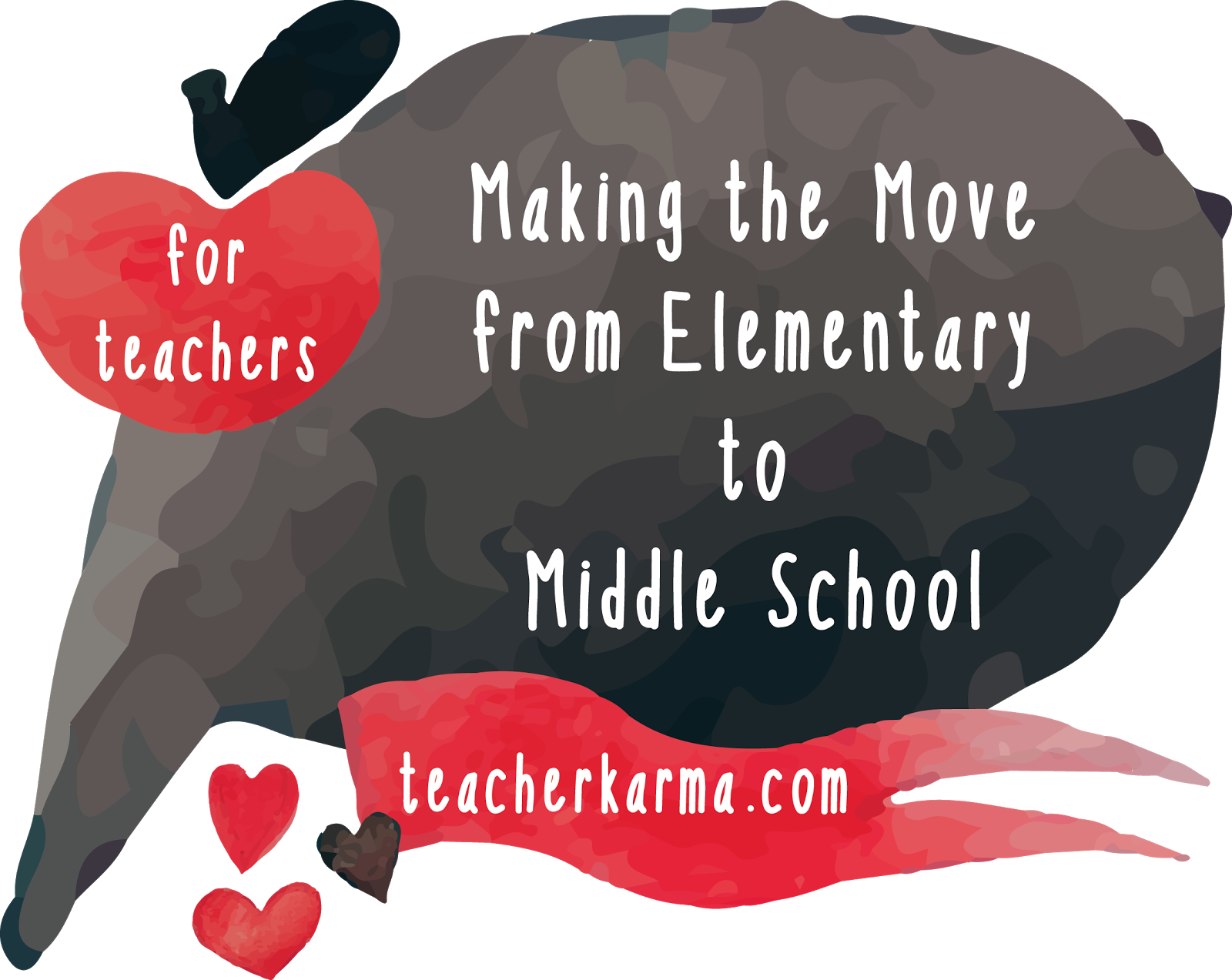Moving clipart heart. From elementary to middle