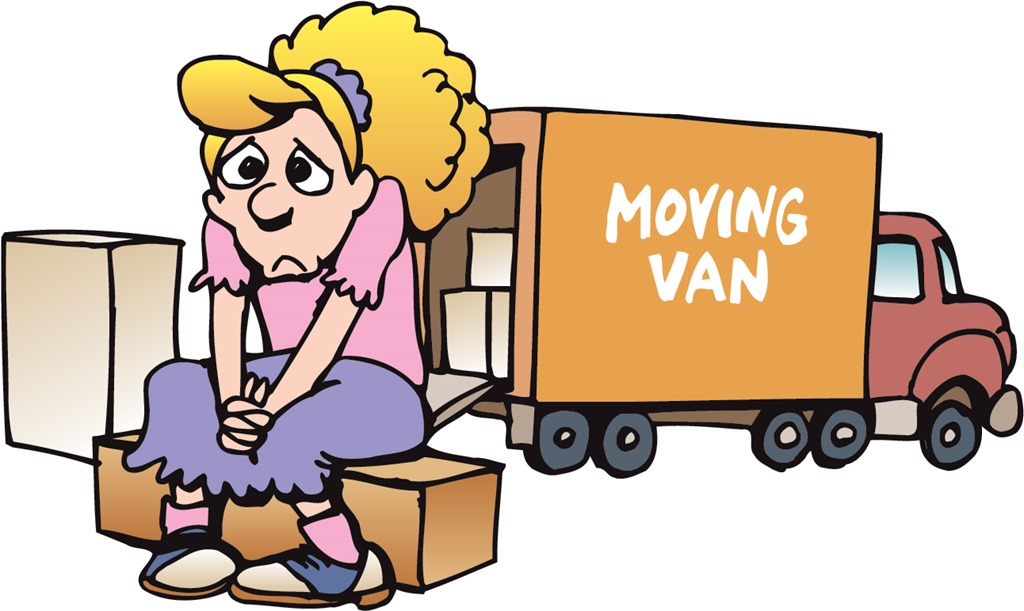 Free van images download. Moving clipart home
