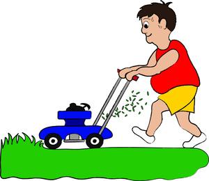 Lawn mower clip art. Mowing clipart