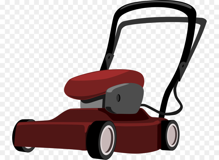 Lawn mowers cartoon clip. Mowing clipart