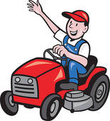 Mowing clipart ride on. Free riding cliparts download