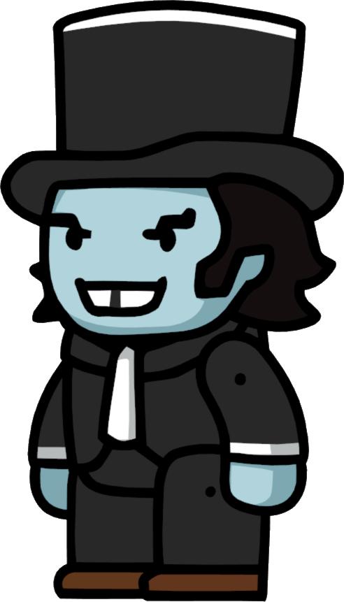 Mr clipart mister. Hyde scribblenauts wiki fandom