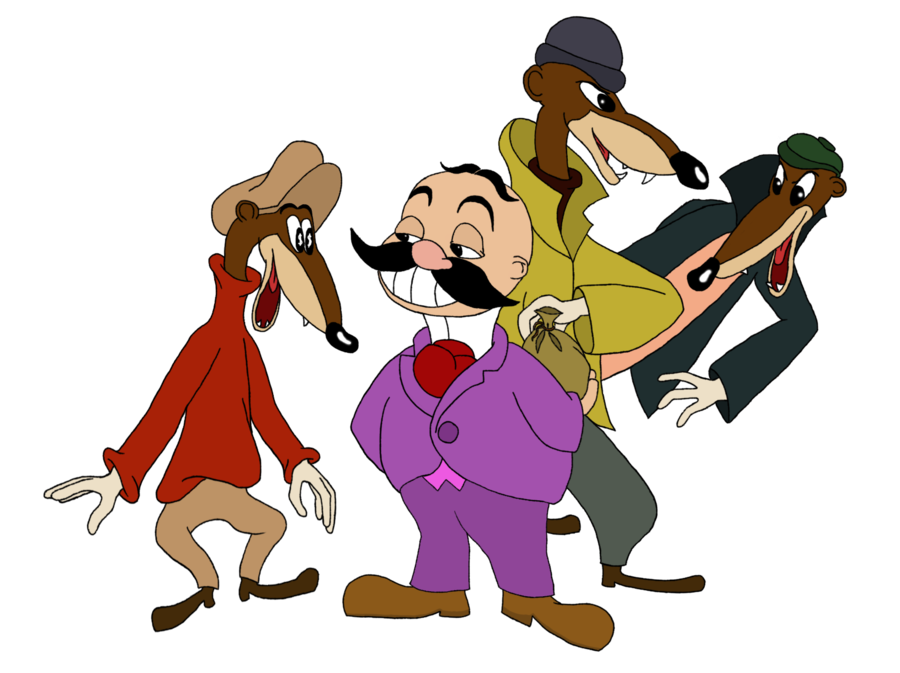 Mr clipart mr disney. Winkie and the weasels