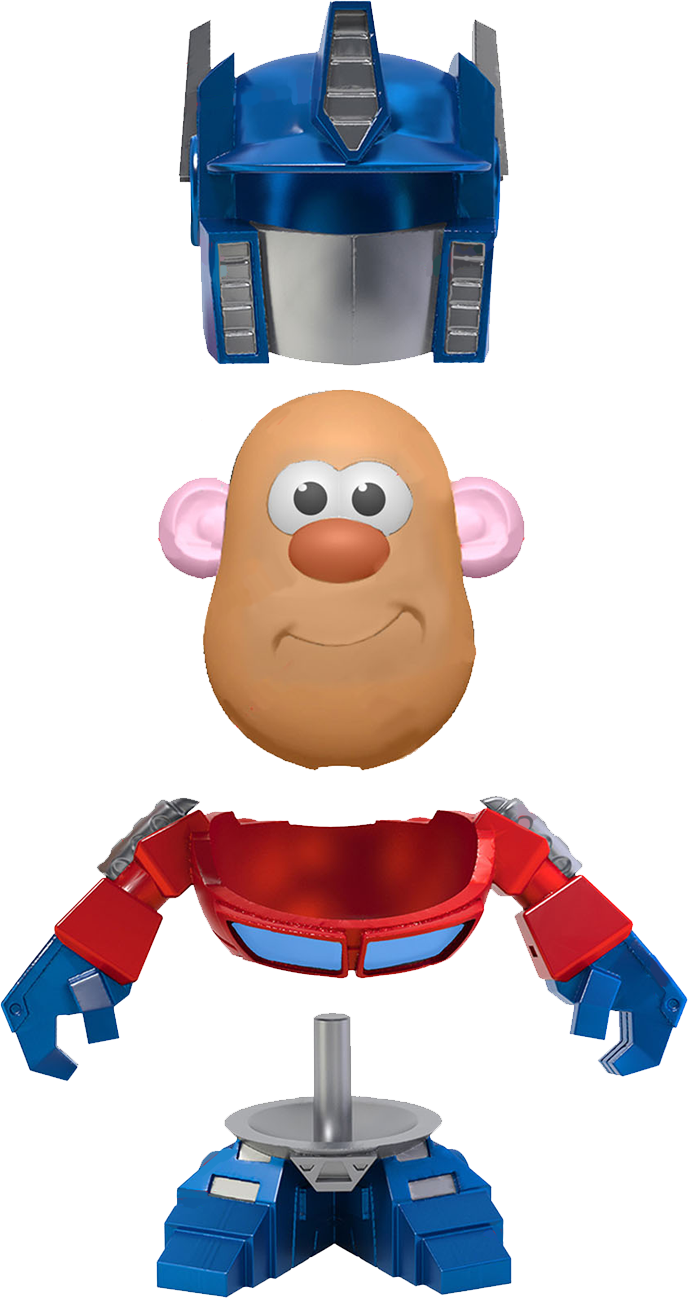 Transformers official images news. Mr clipart mrs potato head