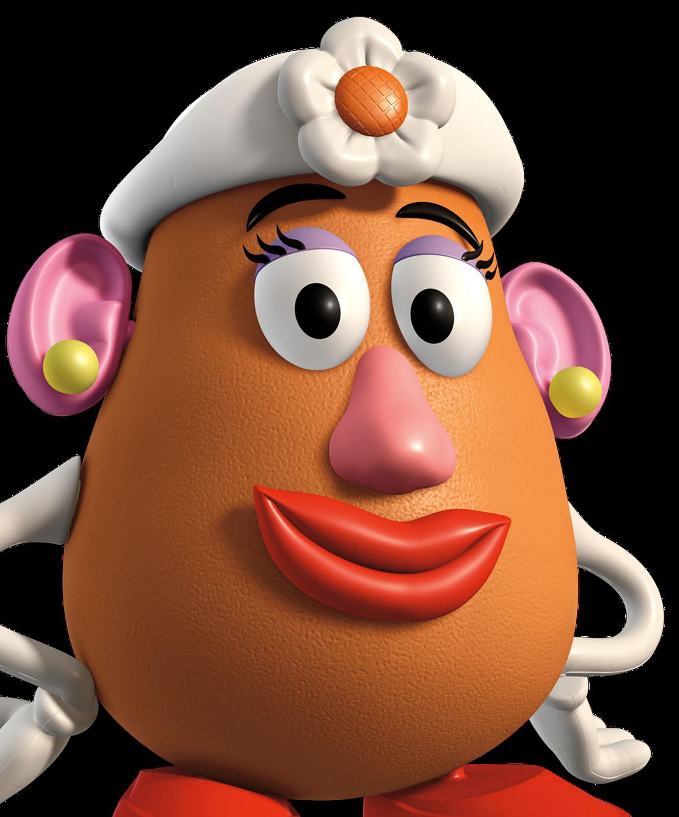 Se ora patata toy. Potato clipart brave