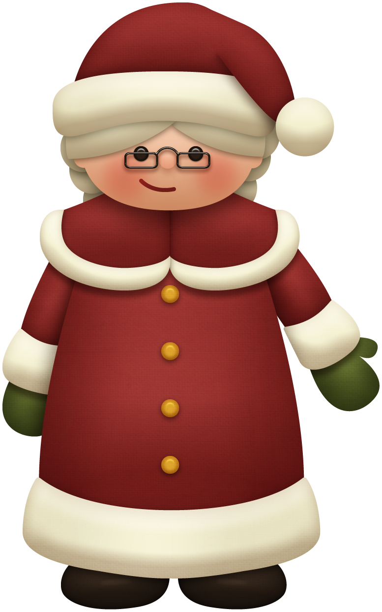 Mr clipart mrs santa claus. Natal pinterest and clip