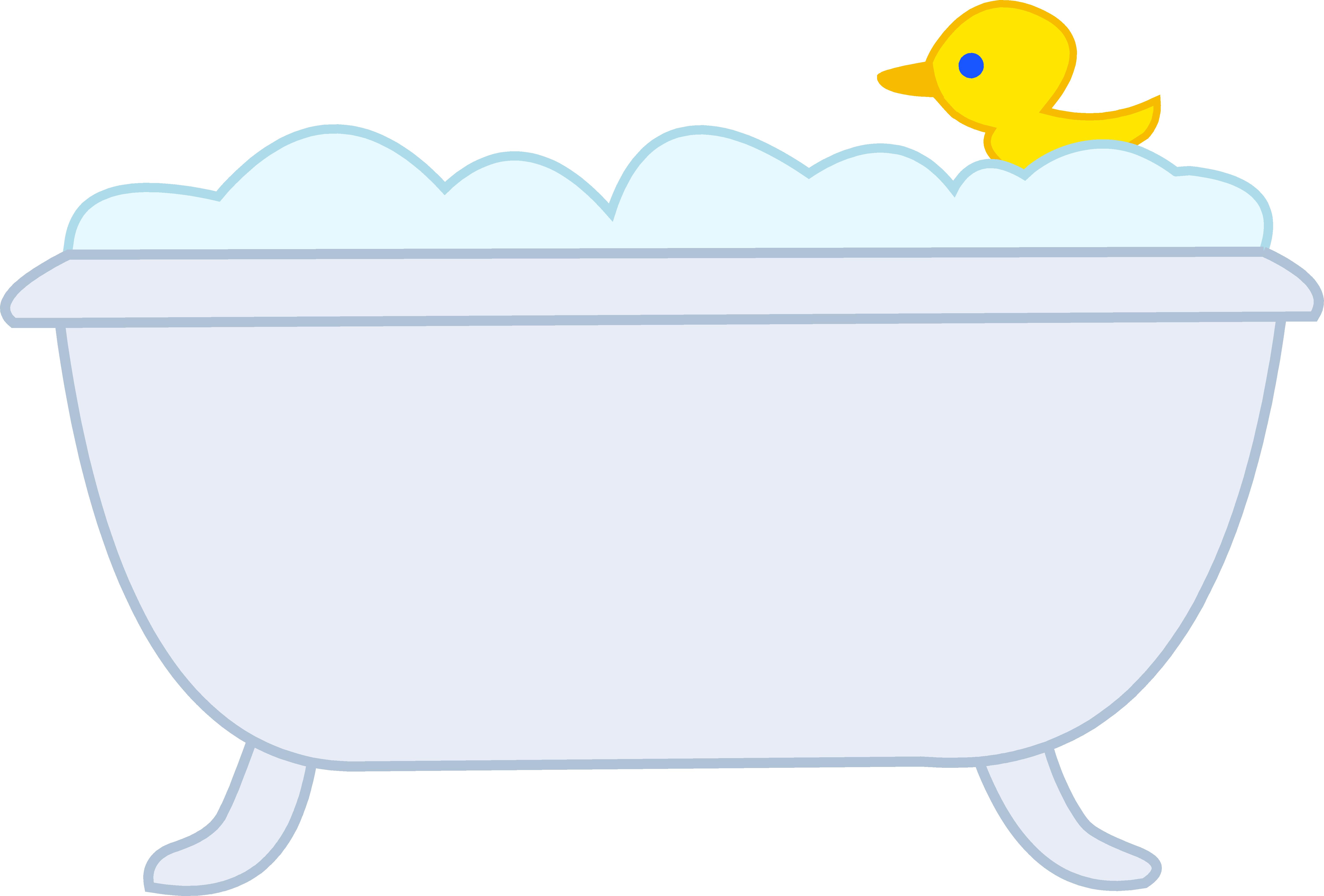 Rubber duck bathtub clip. Mr clipart onederful