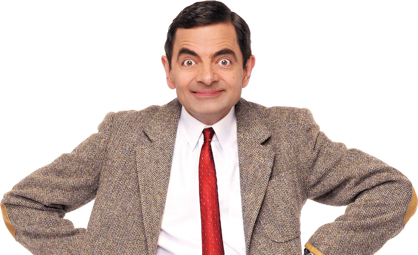 Bean rowan atkinson png. Mr clipart suited man