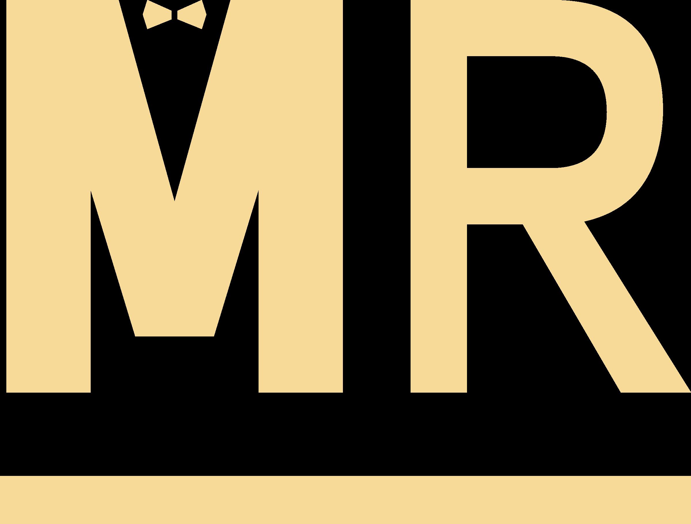 Mr clipart svg. Mannenrantsoen logo png transparent