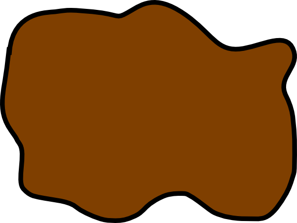 Raindrop clipart muddy puddle. Brown mud clip art