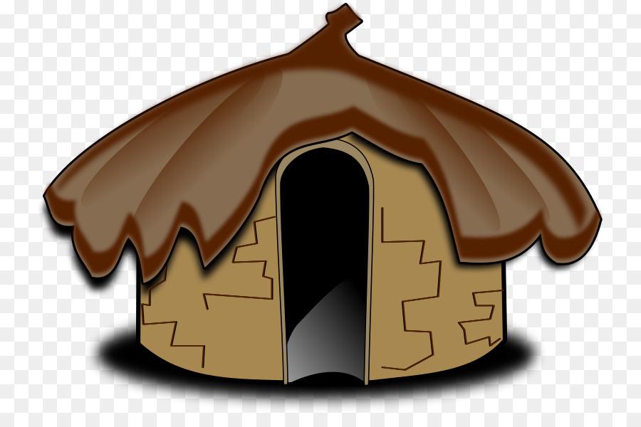 Oca house hut clip. Mud clipart