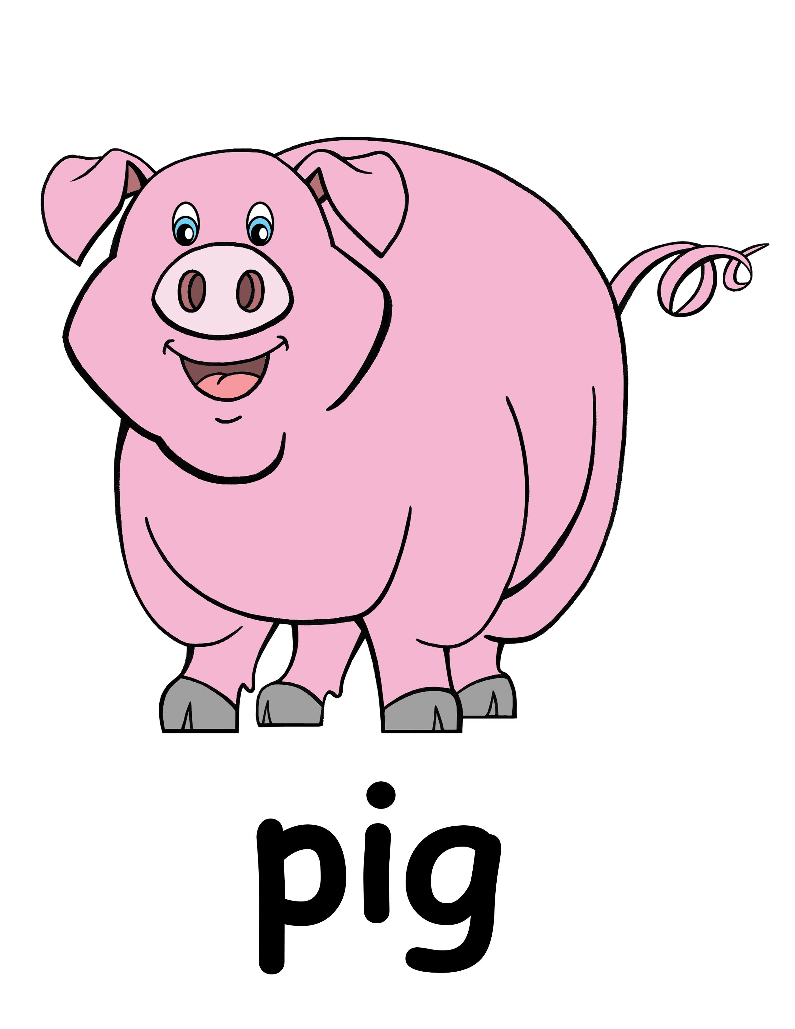 In mud cartoon farm. Pig clipart female pig
