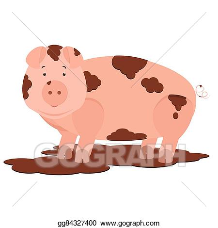 Mud clipart filthy. Dirty pig cliparts making