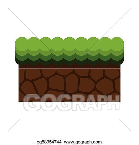Mud clipart ground. Clip art vector block