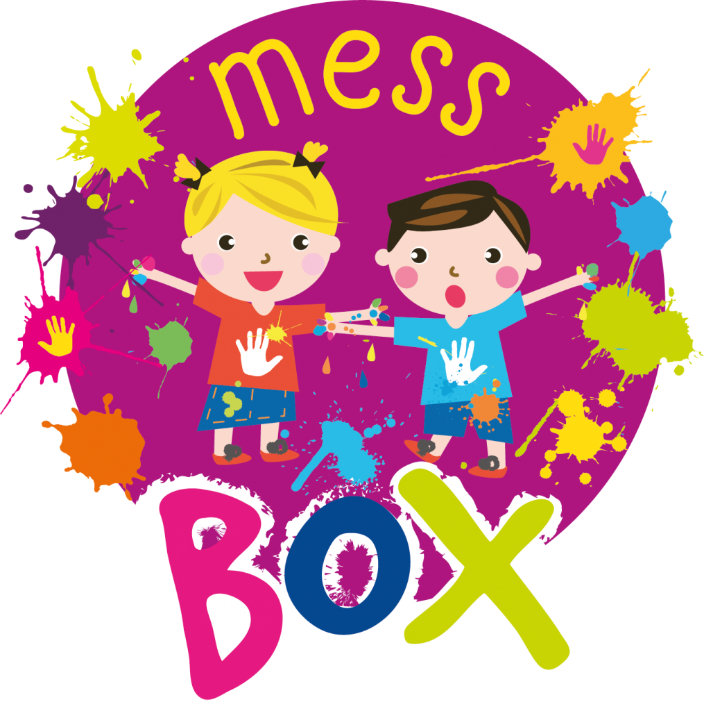 Playdough clipart sensory play. Mess box messy subscription