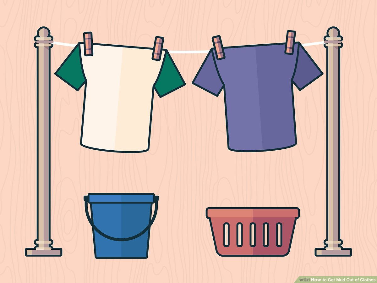 How to get out. Mud clipart muddy clothes