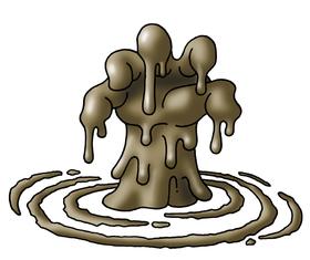 Dragon quest wiki . Mud clipart muddy hand