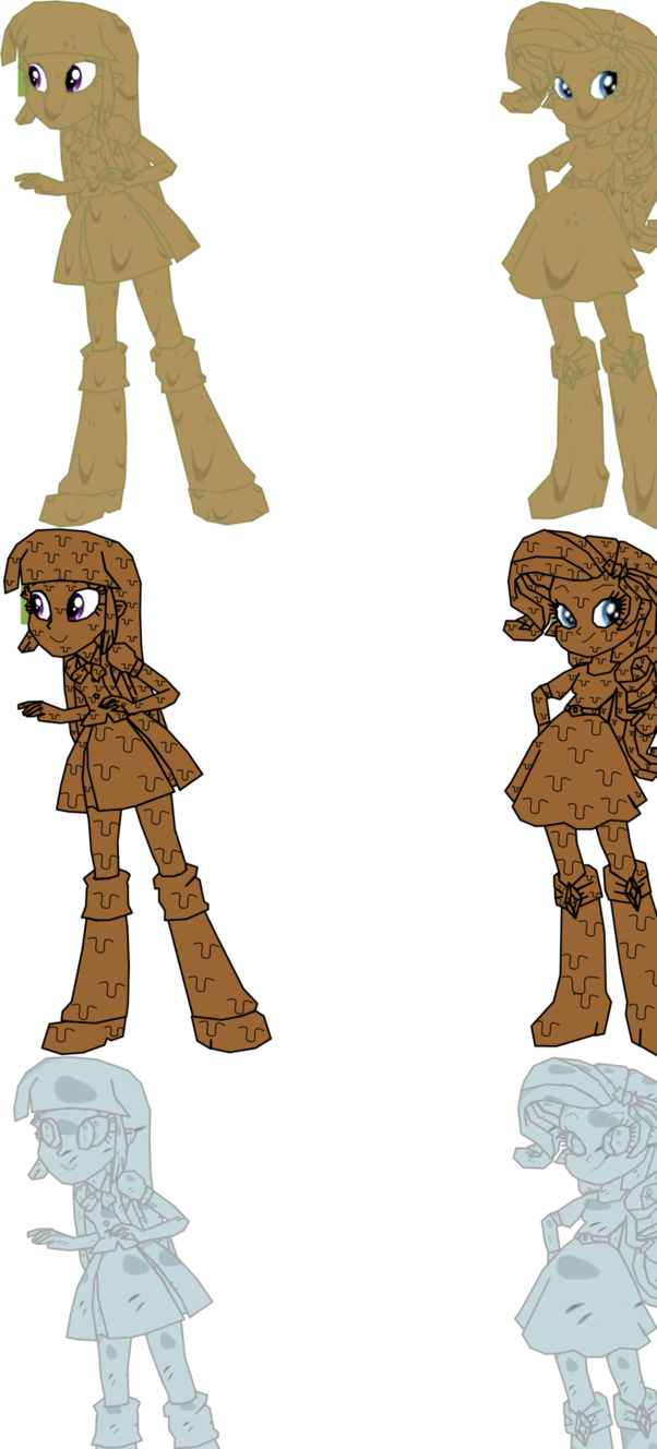 Twilight and rarity covered. Mud clipart muddy shoe