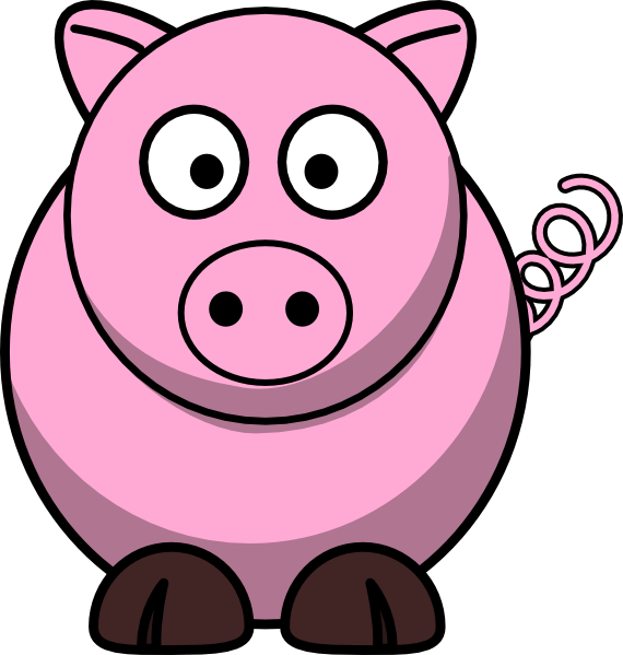Pigs clipart dance. Animated pig pinkie clip
