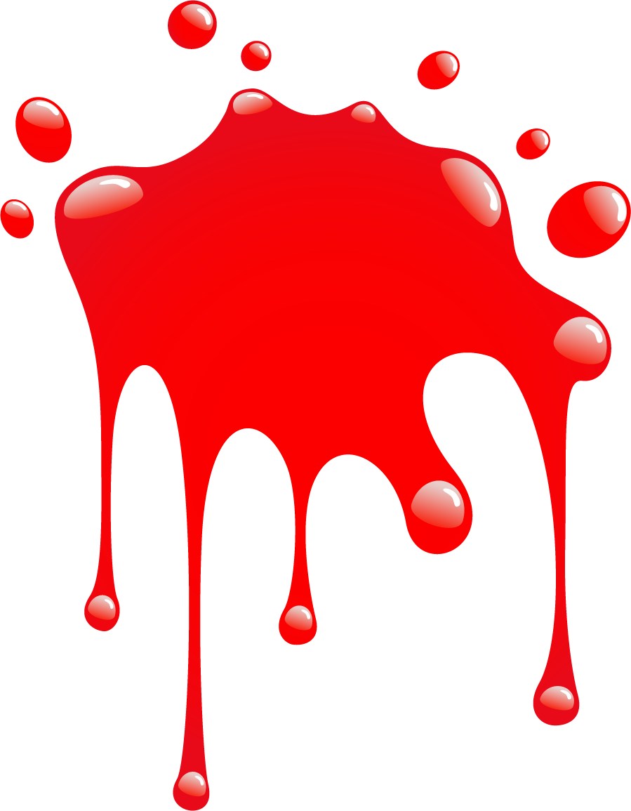 Image of splatter red. Mud clipart splat