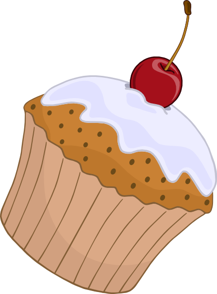 Clip art at clker. Muffin clipart