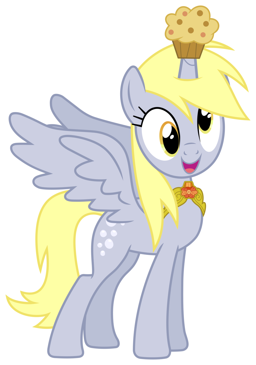 Muffin clipart adorable. Mlp derpy the princess