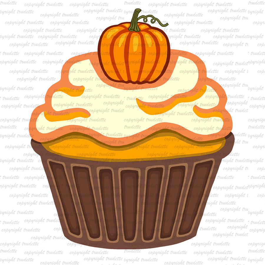 Muffins clipart autumn. Download fall cupcakes cupcake