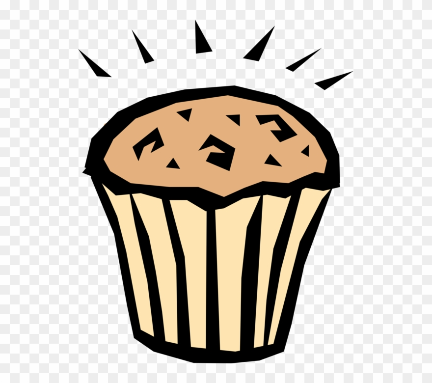 Breakfast pinclipart . Muffin clipart bakery food