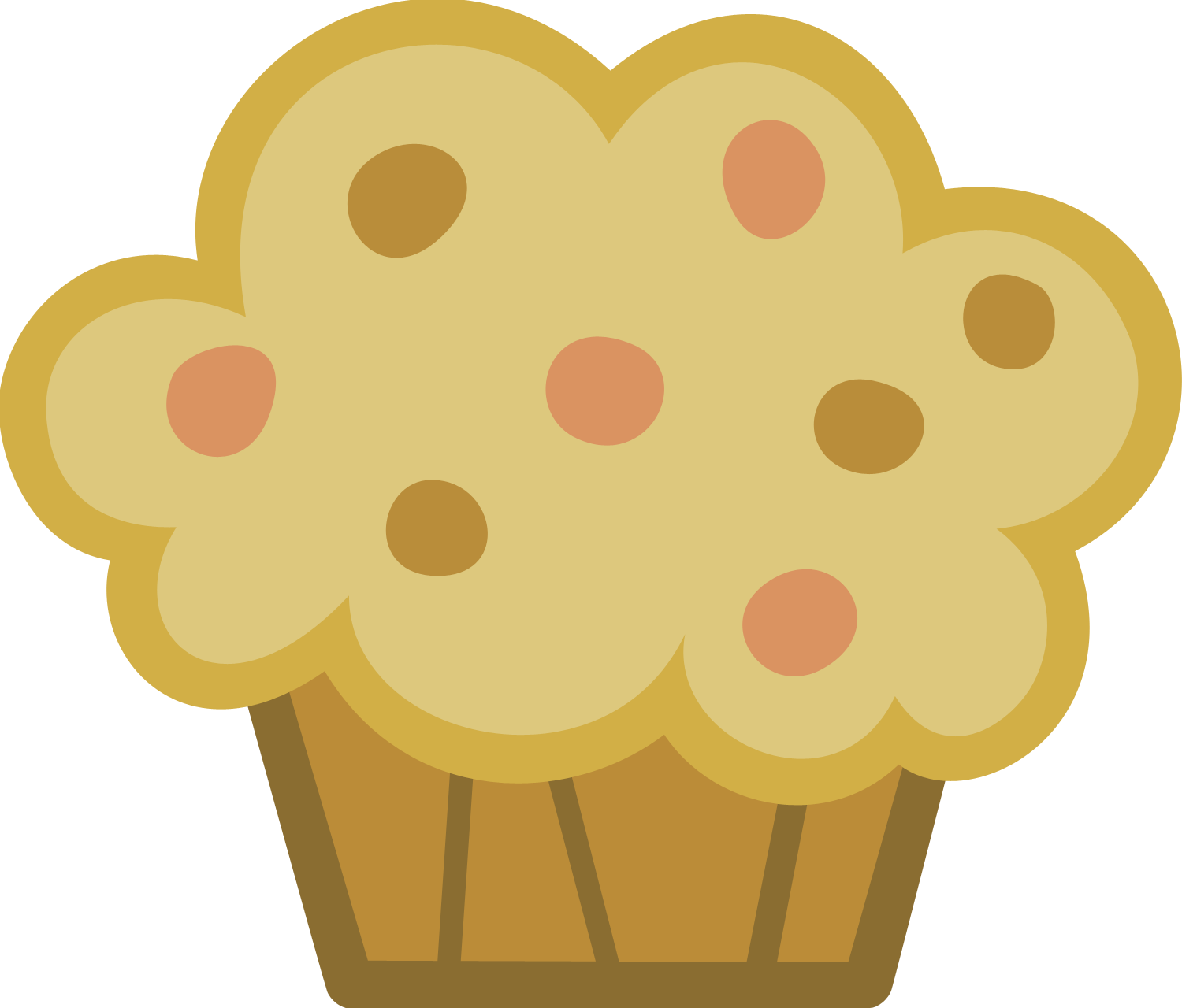 Muffin clipart baking muffin. Image mlp by timmy